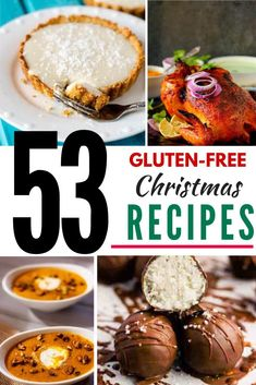Planning for a gluten free Christmas dinner? Check out these 53 Gluten Free Recipes for Christmas!   With everything from simple sides, to main courses and even desserts, there is something in this collection for everyone. Gluten Free Christmas Recipes, Gluten Free Recipes, Holiday Recipes, Vegan Gingerbread Cookies, Pumpkin Flan, Mexican Hot Chocolate, Glazed Carrots, Caramel Pecan, Salad With Sweet Potato
