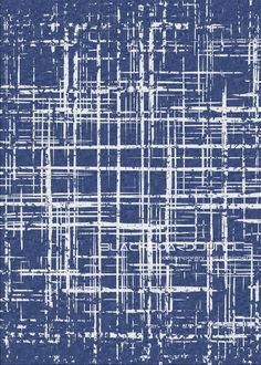 Matrix 64 ...... Blue matrix grunge rug