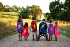 TinySuperheroes have each other's back!