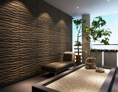 3d wall panels -For spa rooms
