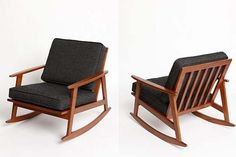 Mid-Century Modern Rocking Chair. Absolutely perfect for a nursery.