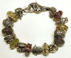 Glass bonbon e Redbalifrog,  bracciale componibile e compatibili con pandora, trollbeads ecc ecc Facebook: pianeta beads www.gold-jewels-italy.com