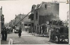 Zaandam: Brand bij Garage De Boer in de Czaar Peterstraat in 1944