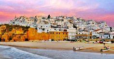 Cidade de Albufeira no Algarve #viagem #lisboa #portugal