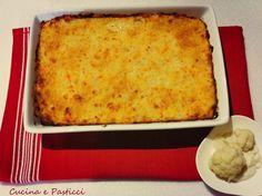 Cavolfiore gratinato con besciamella Lasagna, Macaroni And Cheese, Side Dishes, Ethnic Recipes, Food, Vegetarian, Contouring, Kitchens, Mac And Cheese