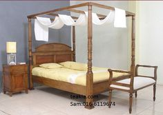 https://flic.kr/p/MawnQJ | poster bed-bedroom furniture-teak wood furniture malaysia-bed frames | www.teakia.com/bedroom.html