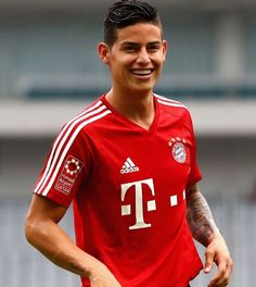 welcome james! so stoked about this transfer #fcbayern