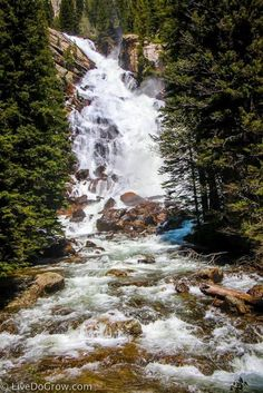 Looking for the perfect adventure destination? Try Jackson Hole, Wyoming – and hike to Hidden Falls in Grand Teton National Park.