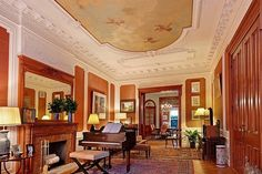 Pierrepont Street Brooklyn Heights Victorian style brownstone interior by techpro12, via Flickr