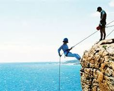 Image result for abseiling