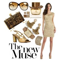 Midas Touch by rashmi-chandra on Polyvore featuring polyvore, mode, style, Morrell Maxie, Roberto Del Carlo, J.Crew, Anne Klein, Lucky Brand, Bottega Veneta, Material Girl, Burberry, fashion and clothing