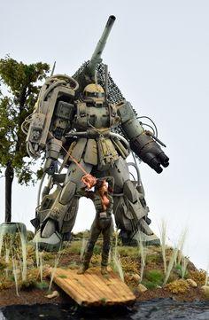 "Custom Build: MG 1/100 Zaku II Ver. 2.0 ""Revenge: Recharge"" - Gundam Kits Collection News and Reviews"