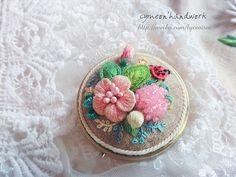 stumpwork embroidery ——casket | Flickr - Photo Sharing!