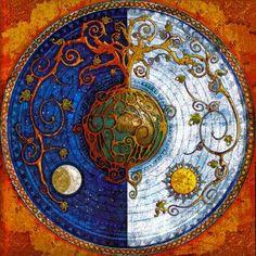Sun ~ Moon Mandala