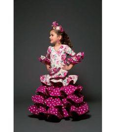trajes de flamenca 2017 - Aires de Feria - Romero niña