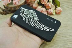 Angel Wings iPhone 4 CaseDIY iPhone 4 and iPhone 4S by Richardwu, $9.50