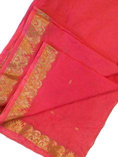 5 Yard Art Silk Sari Fabric Dress Material-Recycle Silk Saree-Silk Ribbon-Art Silk Fabric- Sarong-Curtain Drape ASS1041