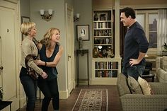 Jaime Pressly, Megyn Price, and Patrick Warburton in Rules of Engagement Rules Of Engagement, Engagement Outfits, Engagement Photos, Megyn Price, Patrick Warburton, Eclectic Design, Wedding Website, Picture Photo, Tv Series