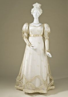Evening Dress 1825 The Los Angeles County Museum of Art