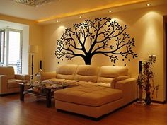 LUCKKYY Large Family Photo Tree Wall Decor Wall Sticker Tree Branch Family Like Branches On A Tree Wall Decorations for Living Room (Black) >>> Check out this great product. (This is an affiliate link and I receive a commission for the sales) Family Wall Decor, Tree Wall Decor, Unique Wall Decor, Room Decor, Wall Decorations, Bedroom Wall Designs, Bedroom False Ceiling Design, Living Room Designs, Family Tree Photo