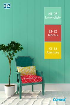 Renovar la decoración de tu sala puede ser la excusa perfecta para crear contraste en una habitación. ¡Piensa siempre en el color de los detalles!  #ComexTips #Comex #Colorful #Colores #DIY #Ideas #Inspiracion #Fun #Inspiration #House