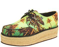 Palm Tree Creepers   T.U.K. Shoes