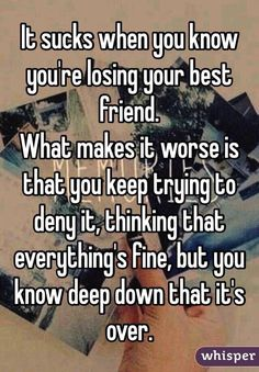 Looking for for real friends quotes?Browse around this site for perfect real friends quotes inspiration. These amuzing quotes will bring you joy. Losing Best Friend Quotes, Best Friend Quotes For Guys, Losing Your Best Friend, Fake Friend Quotes, Bff Quotes, Guy Best Friend, True Quotes, Quotes About Loosing Friends, Best Friend Breakup Quotes