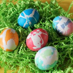 fun #Easter egg dying techniques