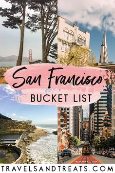 A local's San Francisco bucket list. 100 things to do in San Francisco, California. #sanfrancisco #california