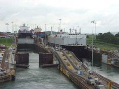 Panama Canal - photo by Dianne Starcke