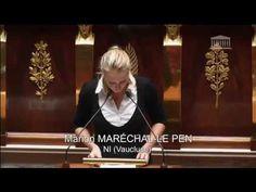 Marion Maréchal-Le Pen est intervenue mardi 21 octobre au soir lors de la discussion générale commune sur le projet de loi de financement de la Sécurité sociale.