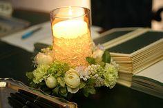 ライラックの装花 リース&リース : 一会 ウエディングの花