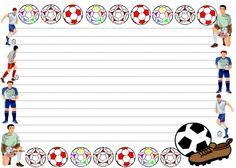 free football border template .