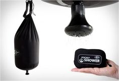 This Compact Shower Head by Sea to Summit is Great for Camping #camping trendhunter.com
