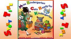 Miss Bindergarten Gets Ready for Kindergarten | Books To Read In School
