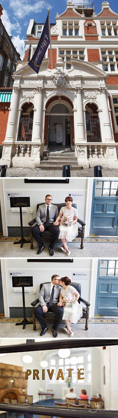 Elopement Photography at Mayfair Library