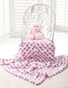 Yarnspirations.com - Bernat Granny Square Blanket - Patterns  | Yarnspirations - (Pattern Downloaded - SLT)