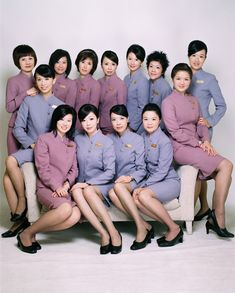 Join the cabin crew's wedding