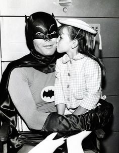 batman and a fan
