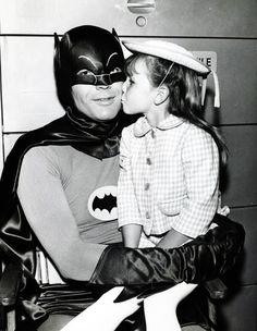 "Adam West as ""Batman"" (c. 1966)"