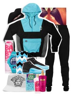 """""""Untitled #198"""" by tiny-siye ❤ liked on Polyvore featuring Lija, G-Shock, Retrò and Victoria's Secret"""