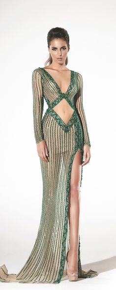 Charbel Zoé Spring-summer 2016 - Couture - http://www.orientpalms.com/Charbel-Zoe-6189