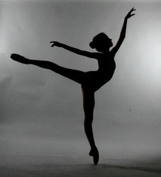Arabesque silhouette. Used to be a ballerina and I love it still.