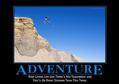 Adventure from Despair, Inc. demotivators motivational posters Okizo Here Funny People Pictures, Pictures Images, Funny Pics, Funny Images, Sarcastic Quotes, Wise Quotes, Funny Quotes, Quotable Quotes, Funny Motivational Pictures