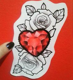 Studio Makaivio Tattoo Gem Tattoo, Tattoo Shading, Mandala Tattoo, Tattoo Drawings, Rose Tat, Rose Flower Tattoos, Mago Tattoo, Tattoo Apprenticeship, Norse Tattoo