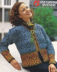 VK is the largest European social network with more than 100 million active users. Knitting Stiches, Knitting Patterns, Crochet Patterns, Knitting Ideas, Fair Isle Pullover, Fair Isle Knitting, Needlework, Knit Crochet, Men Sweater