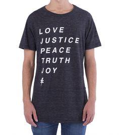 Love/Justice mescla escura