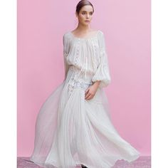 Valentina Vidrascu Folk Fashion, Embroidery Fashion, Gorgeous Fabrics, Feminine, Traditional, Boho, Romania, Blouse, How To Wear