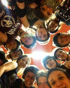 Renegades!  #Renegades #rrdc #rollerderbycharleroi #rollerderbygirls #charleroi #team #fun #sweat by renegades_charleroi