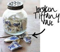 Smashed Vase Keychains DIY #diy #howto #livingwikii #diyrefashion